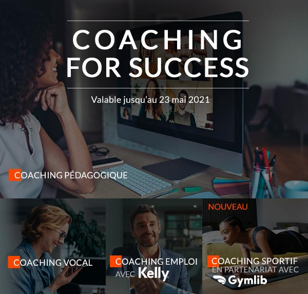 offre Coaching For Success 2021 / image smartphones